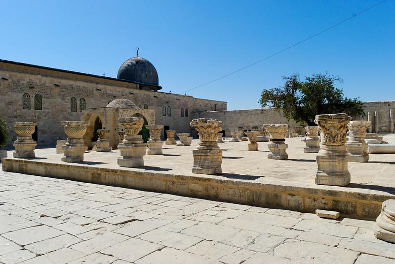Jerusalem - Museu de Arqueologia Muçulmano - Israel -  200906112957