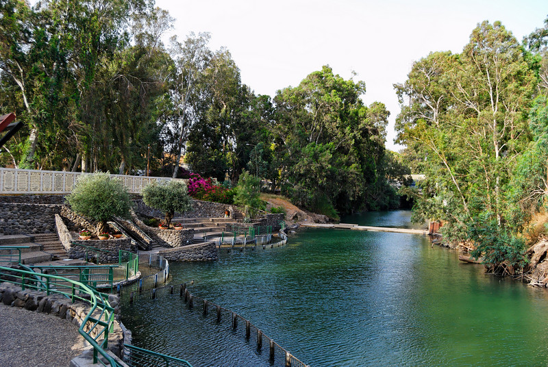 Jordan River - Baptismal place - Israel -  20090609 - 2301