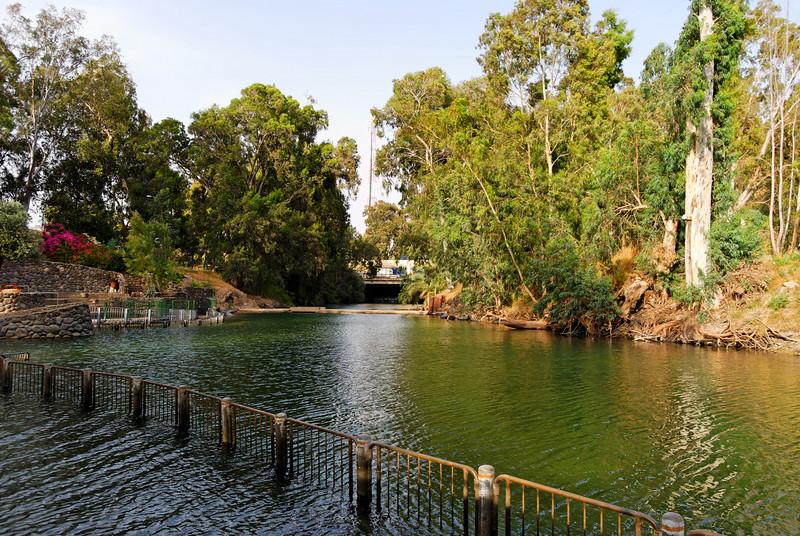 Jordan River - Baptismal place - Israel -  20090609 - 2305
