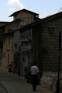 The town of Tsvat- the birth place of 'modern' (read: 500 years ago) Kabbalah study and an arts town. They actually have religious hippies here! Dreads and keepas.