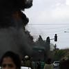 So yeah, our Israeli bus caught fire. Looks like CNN.