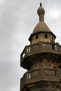Old Syrian Mosque in the Golan Heights, now in Israel.