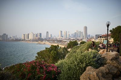 View on Tel Aviv from Jaffa.