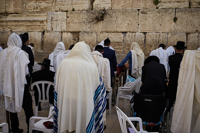 The Western Wall, Jerusalem.