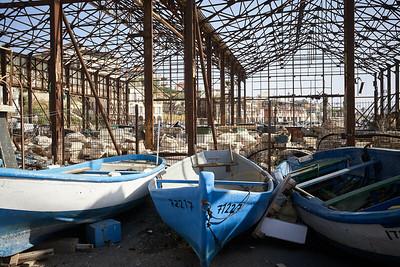 Jaffa harbour.