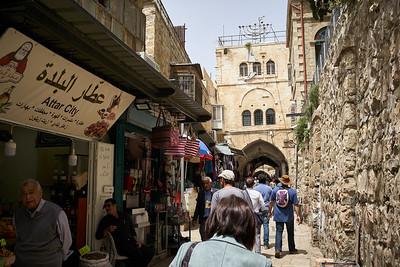 Jerusalem street view.