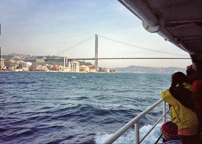 Daylong trip on Bosporus ferry