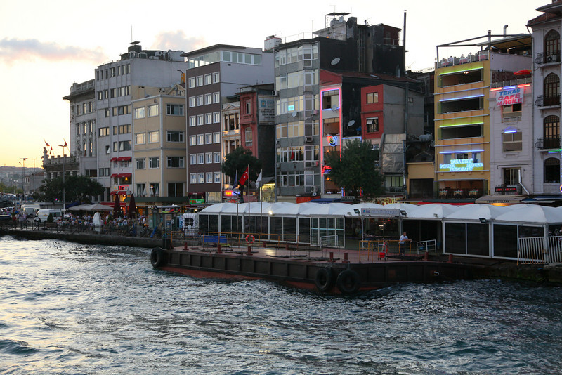 Ferryboat terminal in Karaköy. Nice place.