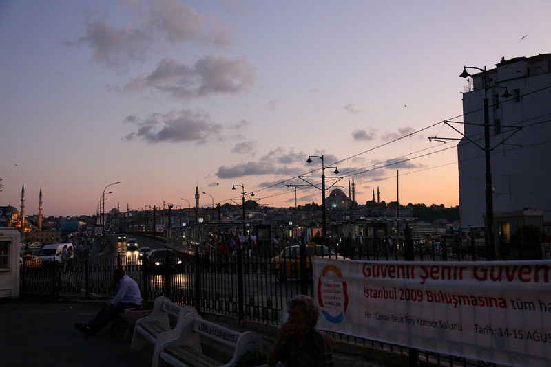 Galata bridge, Karaköy side..