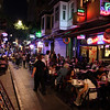 Kadıköy in the evening, bustling with activity...