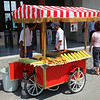 Eminönü. Corn for sale...