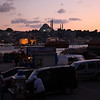 Karaköy, with a view on the Eminönü mosque.