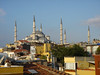 The Blue Mosque - From the roof of our hostel
