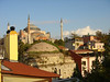 Hagia Sophia - From the roof of our hostel