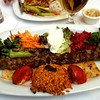 Kebabs for dinner.