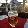 I am not a big beer drinker except when we travel to warm climates. This is Efes, the most popular beer in Turkey. Not bad. Wonderful when you've been walking for three hours. In the background is the Haghia Sophia.