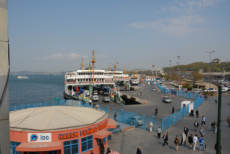 Walking down to the Golden Horn