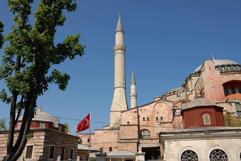 Next day shots of Hagia Sofia
