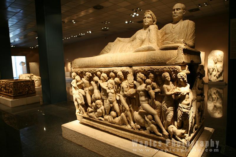 Ornate Sarcophages