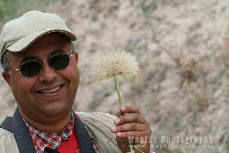 Our quirky guide, Mustafa Uysun