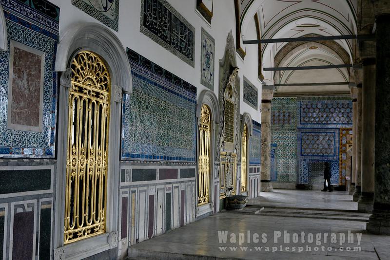 Hallway, Topkapi Palace