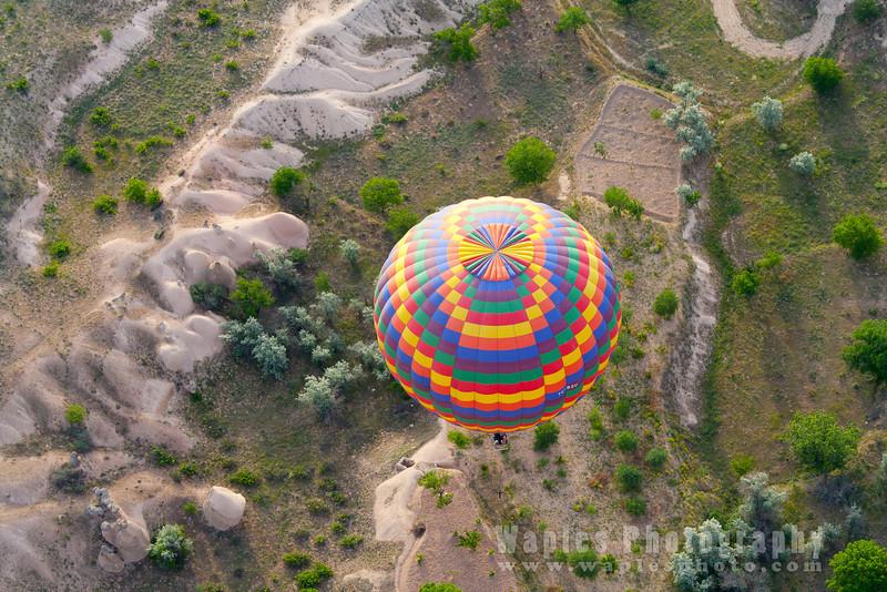 Atop another Balloon