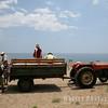Tractor transport, Olympos Beach