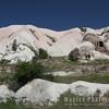 Mounds of volcanic ash, tufa
