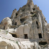 Homes carved into tufa