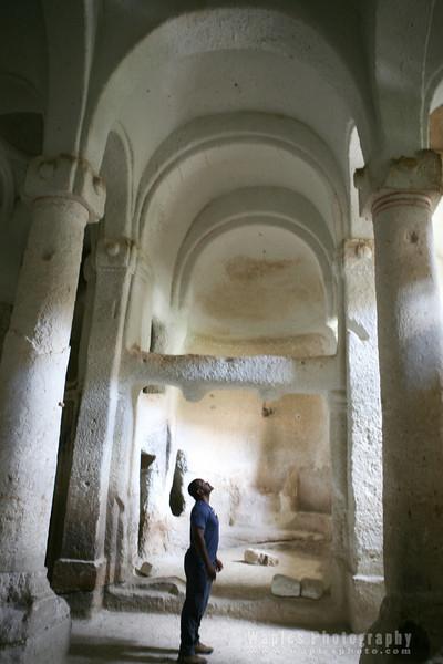 Inside the Rock Church