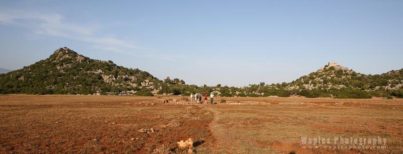 Hiking near Kekova