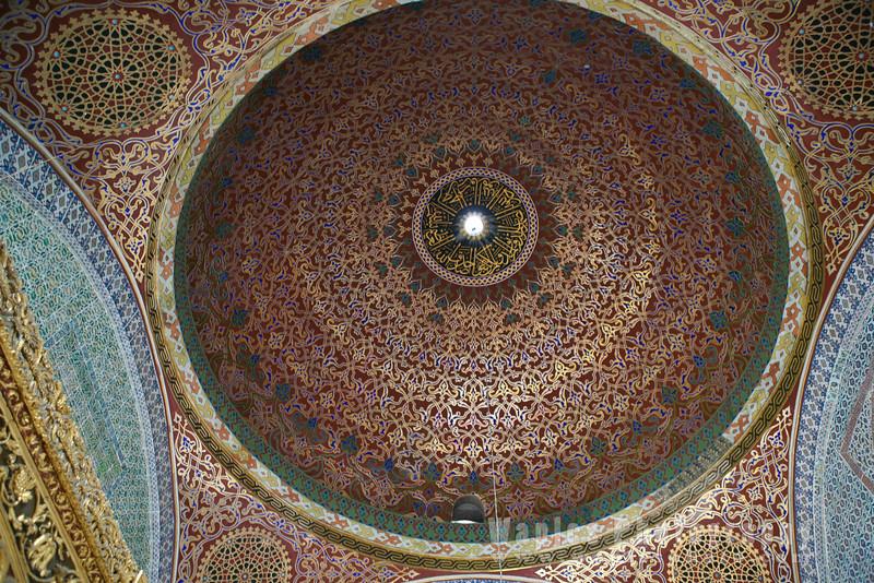 Dome inside Topkapi Palace