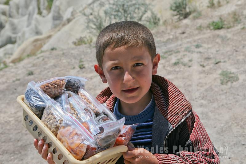 Young Vendor