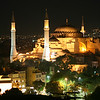 Haghia Sophia, at night