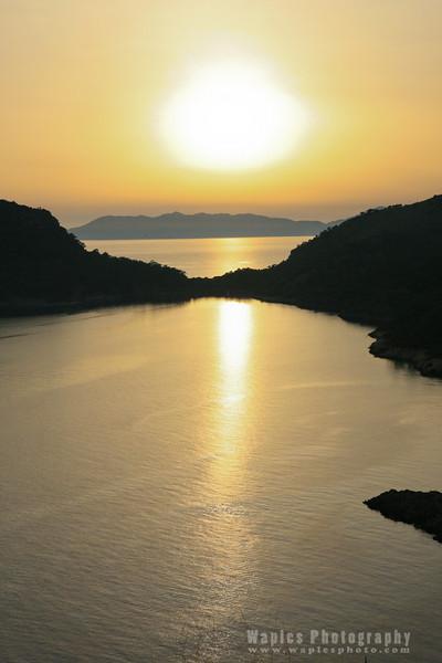 Sunset, Gemiler Islands