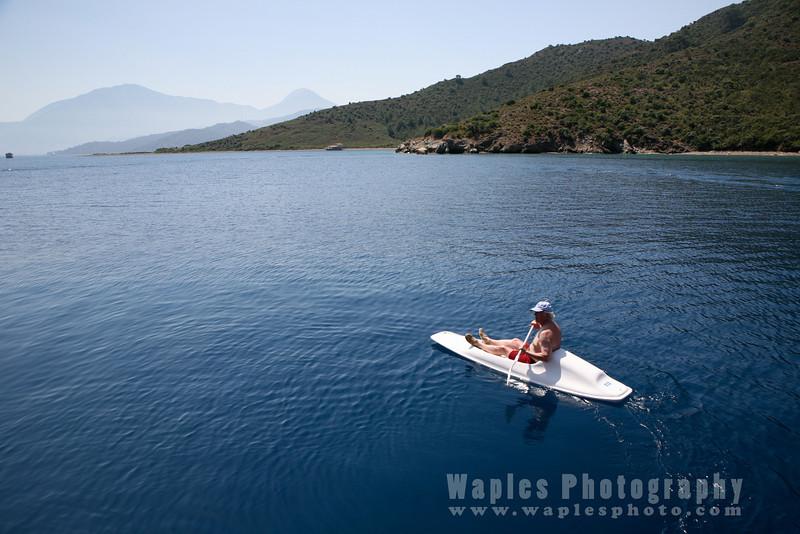 Kayaking on Turquoise