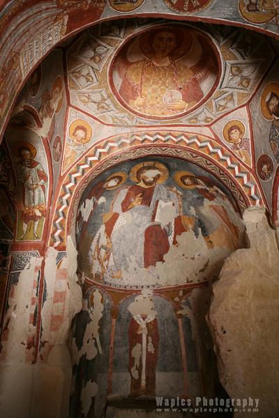 Frescoes, Apple Church