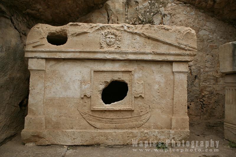 Sarcophagus of Captain Eudemos