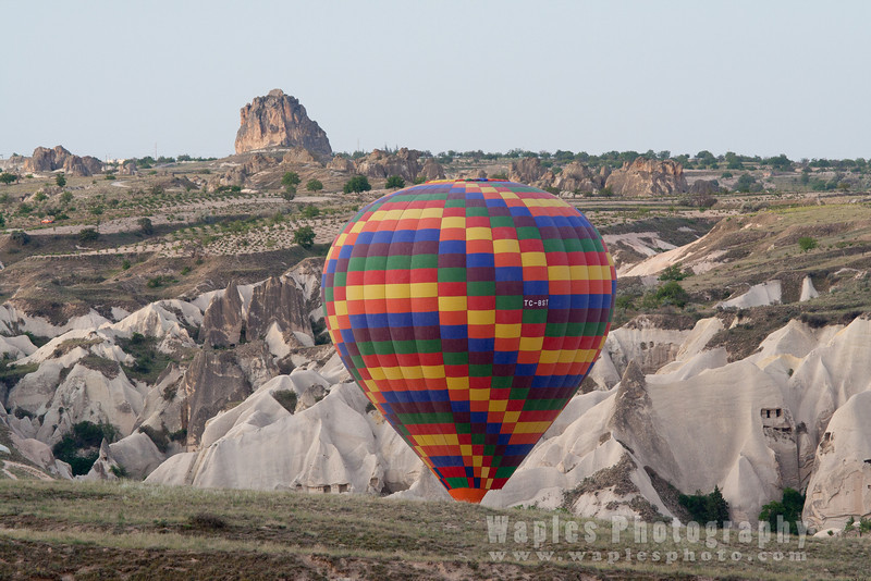 Balloon and Tufa