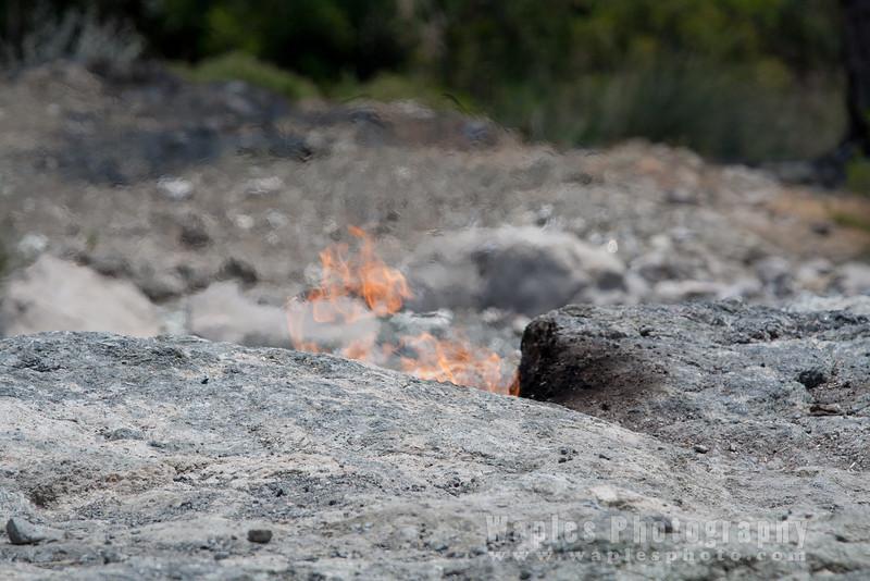 Fires on Mount Chimaera