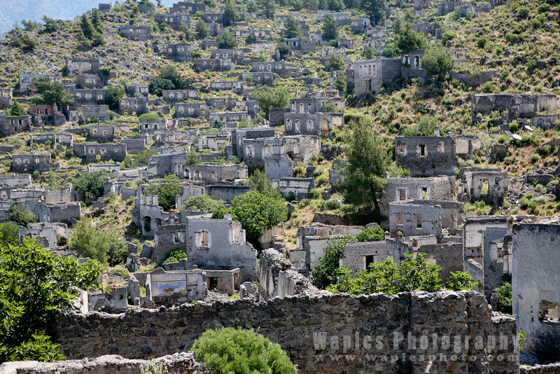 Kayakoy, Ghost Town, abandoned in 1923