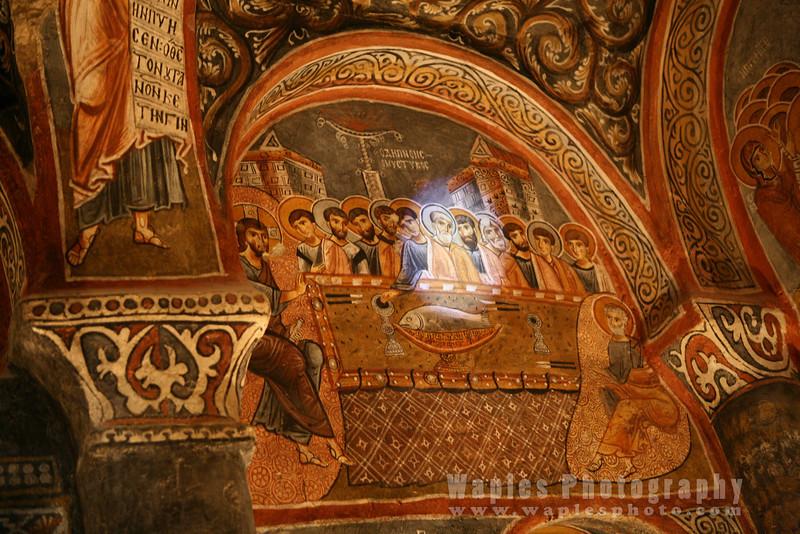Shaft of light in the Dark Church