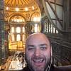 Inside the Hagia Sofia.