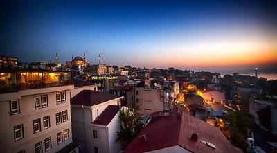 Hagia Sophia and the Sultanahmet District