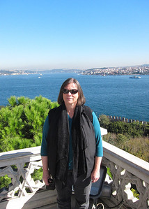 Holly and Golden Horn from Topkapi Palace