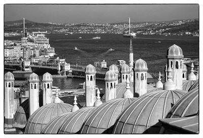 Golden Horn from the Mosque of Süleyman the Magnificent