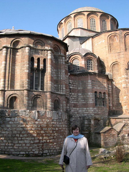 The church of St. Saviour in Chora is in a seldom-visited part of the old city, near the massive Land Walls that protected Istanbul for over 1000 years.  It has some of the finest Byzantine mosaics and frescos still in existance.