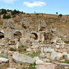 Ephesus is a well-preserved ancient Greco-Roman city on the west coast of Turkey.  Due to it's position on the trade route, it became the second largest city in the world during the Roman Period (behind Rome) with a population of more than 250,000.