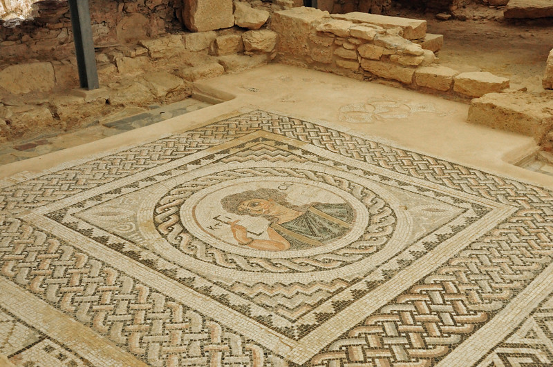 Pafos served as the capital of Cyprus during ancient times which accounts for the incredible mosaics that adorn the floors of nearly all the buildings.