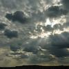 A dramatic sky.